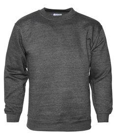 Big Matts Fleece Lined Sweatshirt 3XL, 4XL, 5XL, 6XL, 7XL Polycotton Charcoal