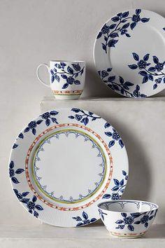 Northern Blooms Dinnerware - anthropologie.com