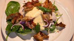 Caesar salade met gepocheerde kip - De Makkelijke Maaltijd | 24Kitchen
