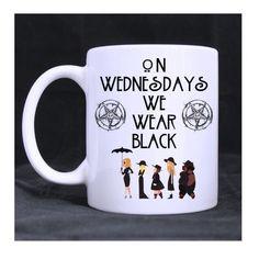American Horror Story Coven AHS On Wednesdays We Wear Black 11oz ceramic mug