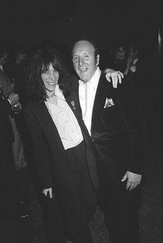Patti Smith and Clive Davis