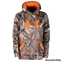 Gander Mountain\u00ae > Under Armour Youth Big Logo Hoodie - Apparel > Kids' Apparel > Kids' Hunting Apparel :