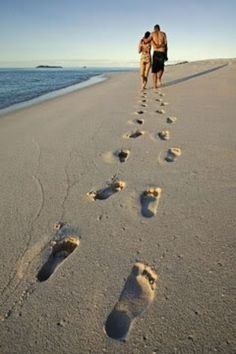 We vote beach honeymoon! Beach Walk, Beach Trip, Beach Pictures, Couple Pictures, Beach Pics, Beach Photography, Couple Photography, Couple Beach, Couples At The Beach