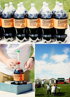 The Activities: Mentos and Diet-Coke geysers!!!
