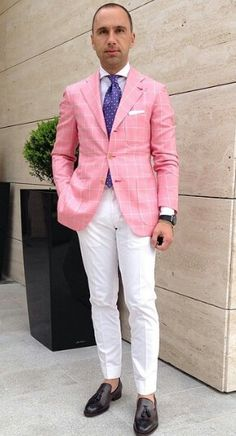 Pink. . . you know, I usually like Mr. GWH's fashions, but this just give me a gag of Pepto.