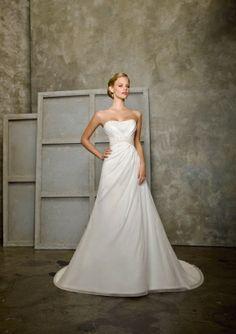 Chiffon Softly Curved Neckline Beaded Bodice A-line Wedding Dress [v1022u56a-w1439] - $248.00 : Cheap Prom Dresses,Party Dresses,Evenning Dresses,etc...Online.