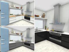 Galley Kitchens, Luxury Kitchens, Mini Kitchen, New Kitchen, Kitchen Trends, Kitchen Ideas, Kitchen Layout, Kitchen Design, Create Floor Plan