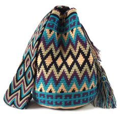 Amalfi Double Thread Wayuu bag