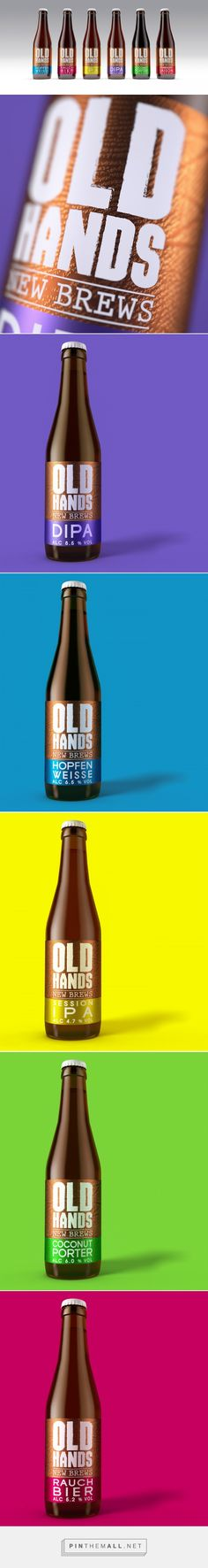 Old Hands Fine Ales - Packaging of the World - Creative Package Design Gallery - http://www.packagingoftheworld.com/2017/02/old-hands.html