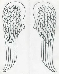 How To Draw Angel Wings Quickly In Few Easy Steps