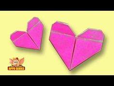 Origami - Let's make a Heart (HD) - YouTube