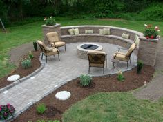 Nice 46 Awesome Fire Pit Ideas for Your Backyard https://homeylife.com/46-awesome-fire-pit-ideas-backyard/