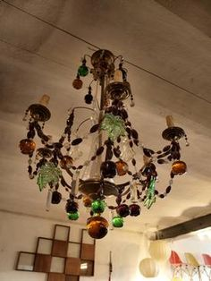 A murano glass fruit chandelier is a very special purchase the murano glass fruit chandelier aloadofball Images