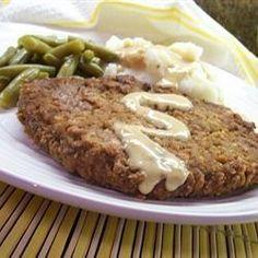 Country Fried Steak and Milk Gravy Allrecipes.com