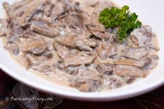 My second favorite ox tongue dish is Lengua in white mushroom sauce. This is a rich and creamy way to cook lengua. It is also known as lengua in white sauce Pork Liver Recipe, Pork And Beef Recipe, Liver Recipes, Beef Recipes, Cooking Recipes, Ox Tongue Recipe, Beef Tongue, How To Cook Cow Tongue Recipe, White Mushrooms