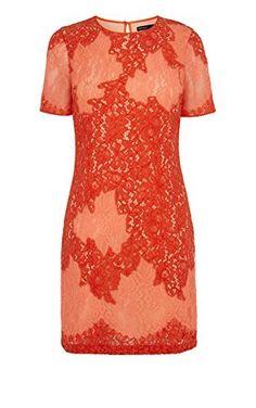 Karen Millen lace applique dress
