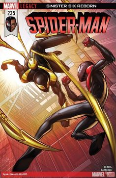 Spiderman and iron spider ? Amazing Spiderman, Spiderman Spider, Spiderman Marvel, Hq Marvel, Marvel Dc Comics, Marvel Heroes, Ultimate Spider Man, Miles Morales, Marvel Universe