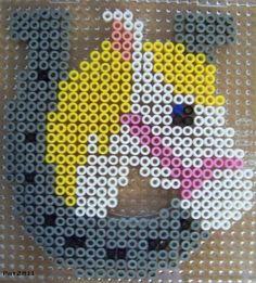 Horse hama perler beads by Les loisirs de Pat