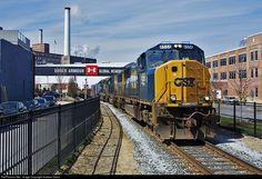 Csx Transportation, Baltimore, Maryland, Trains, Train