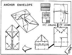 Envelope and Letter Folding: Anchor Envelope