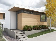 Shelter Residential Design is a Vancouver Design Practice, owned and operated by Principal, Mark Simone. Wood Siding, Exterior Siding, Porches, My Dream Home, Shelter, Garage Doors, Outdoor Decor, Modern, House