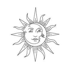Resultado de imagen para dibujos para repujado sol y luna