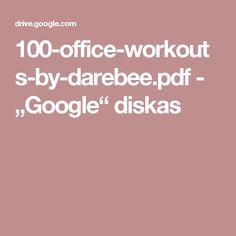 """100-office-workouts-by-darebee.pdf - """"Google"""" diskas"""