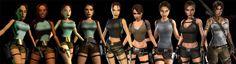 Tomb Raider's 20th Anniversary Evolution of Lara Croft
