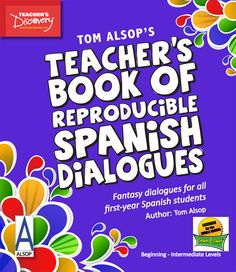 Get your students talking, literally! This reproducible teacher's book is full of classic and fantasy conversations that your students can relate to. Topics range from curfew to texting to weekend plans. Students love acting as their favorite celebrities as they play out dialogues from the book and then create their own using the first-year vocab that is provided.    ©2012. English, Spanish.Beginning, Intermediate. Middle school, high school. Reproducible.142 pages.     Book Download:...
