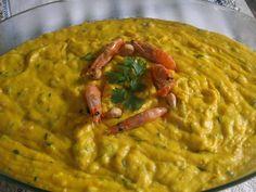 Aprenda a preparar a receita de Vatapá de camarão rápido