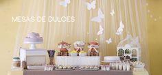 Mesas de dulces y decoración handmade