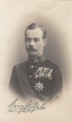 Prince Georg Wilhelm de Hanovre (1880-1912) fils du prince Ernest-Auguste II et de la princesse Thyra de Danemark