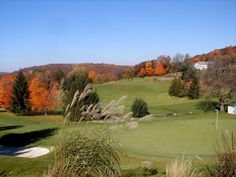 Panther Valley Golf & Country Club. Beautiful scenic best golf course photography. Rutgers Professional Golf Turf Management School NJ.