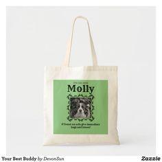 Your Best Buddy Tote Bag Dog Bag, Good Buddy, Dog Birthday, Budget Fashion, Holiday Photos, Just The Way, Pet Dogs, Hug, Dog Lovers