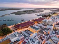 Cidade de Olhão no Algarve Quito, Algarve, Parks, Ria Formosa, Airplane View, 1, Beaches, Restaurants, Fishing