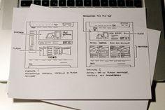 #ux #design #scetches