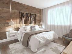 ✓ Models Comfortable Bedroom Decor Of 50 Rustic Bedroom Design, Rustic Master Bedroom, Home Bedroom, Bedroom Wall, Bedroom Decor, Bedroom With Wood Wall, House Design, Interior Design, Home Decor
