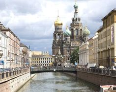 St. Petersburg, Russia -- A mish-mash of Soviet, pre-revolutionary, and modern architecture, culture, and history