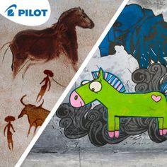 Kresby koní sa síce časom vyvíjajú, ale neprestávajú byť obľúbené. Čo najradšej kreslíš vo voľných chvíľach ty? #happywriting #pilotpen