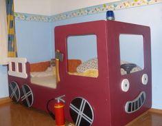 Kinderbett Feuerwehr Kinderbett,Feuerwehrbett