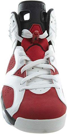 competitive price cc23f 833c8 Nike Air Jordan 6 Retro, Chaussures de Sport Homme, Blanc Rouge Noir