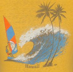 vintage Hawaii tourist tee.