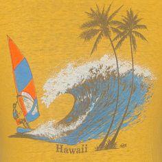 vintage Hawaii tourist tee.