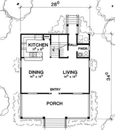 Plan #472-6 - Houseplans.com