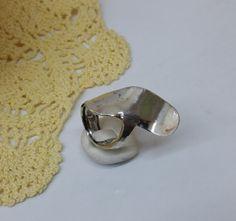 180 mm Besteckschmuck Silberbesteck Ring von BesteckschmuckBaron