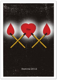 The XX - gig poster