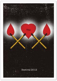 Aron Jones - Bestival 2012 Poster