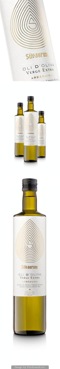 Silvaurum #OliveOil with gorgeous #gold accents #packaging PD