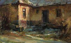 Heritage by Tibor Nagy Oil ~ 11 x 18