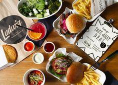 Das Burger Restaurant in Innsbruck und Salzburg :: ludwig. Burger Restaurant, Innsbruck, Salzburg, Der Ludwig, Cheese, Food, Food Food, Essen, Meals